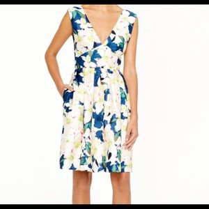JCrew short flower dress size 2